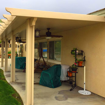 Backyard Patio Cover